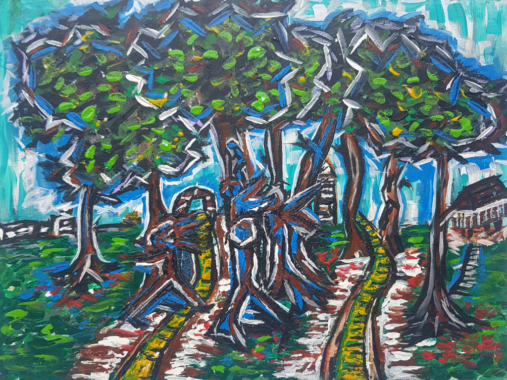 Dancing In The Trees 16x12 2020 - $375