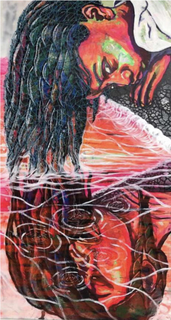 Future Reflection 4ftx8ft 2019 - $3,000