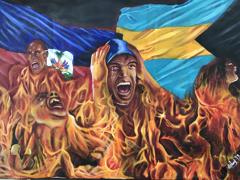 Man Without A Country 1 36x50 - $1,750