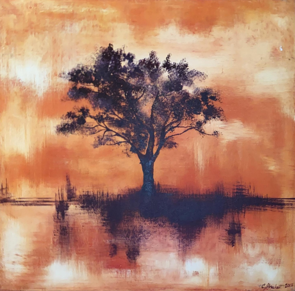 Tree Of Hope 35x35 2018 - $1,400